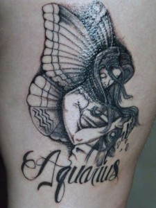 Aquarius Tattoos Are Best Described As One Of The Most Popular Tattoo