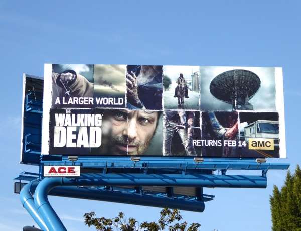 Walking Dead midseason 6 billboard