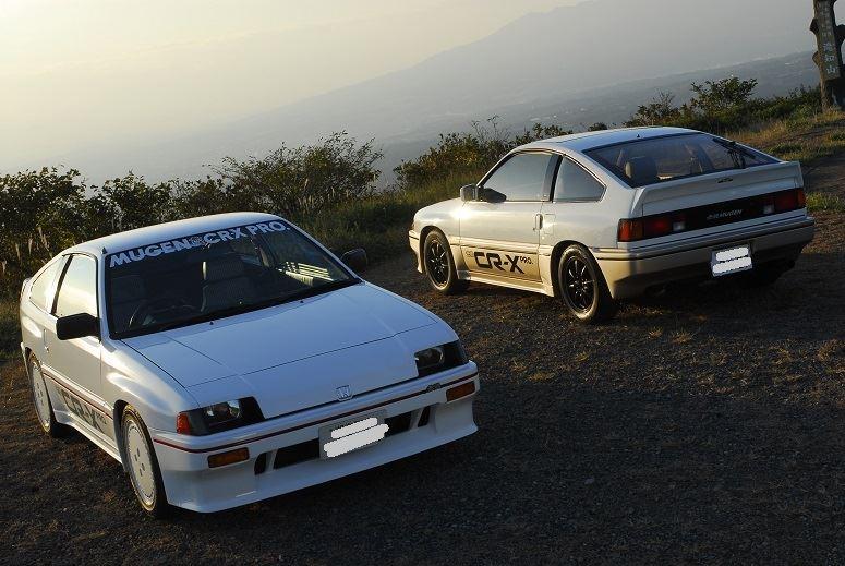 Honda CRX Ballade Sports, pierwsza generacja, usportowiony, pasja, tuning, fotki