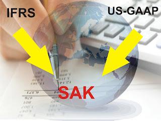 PERBEDAAN ANTARA SAK IFRS, SAK US-GAAP DAN SAP