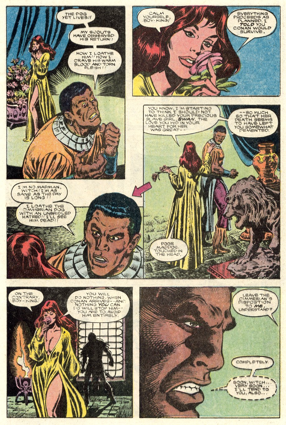Conan the Barbarian (1970) Issue #184 #196 - English 4