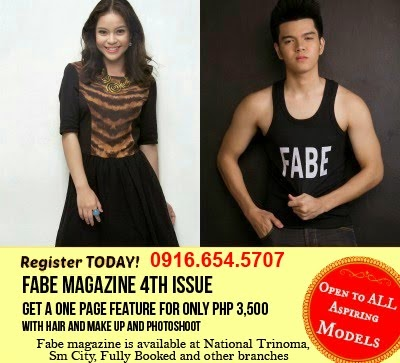Register TODAY! FABE MAGAZINE 4th ISSUE