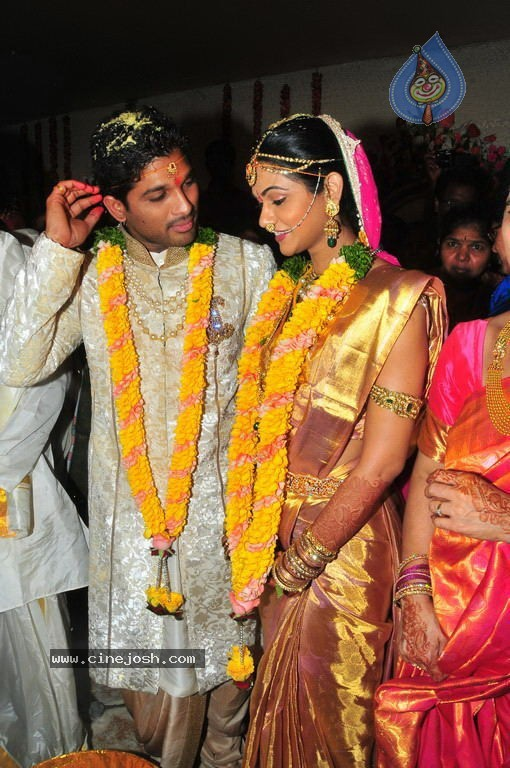 Sms For U Allu Arjun Marriage Images