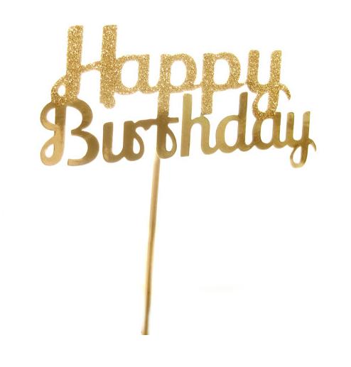 Happy Birthday Cake Topper : Friday Faves | blog.sassyshortcake.com