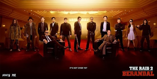 Film The Raid 2: Berandal Tayang Maret 2014