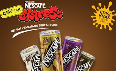 Peraduan Nescafe 'Chill Lah Express Edisi Khas'