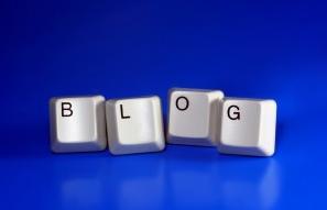 Blog computer keys
