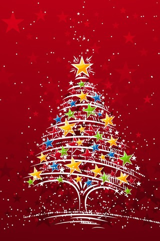Christmas Iphone Wallpapers on Christmas Tree Iphone Wallpaper Is High Quality Wallpaper For Iphone