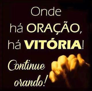 Oração...