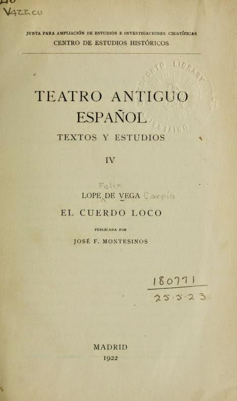 Teatro Antiguo Español IV