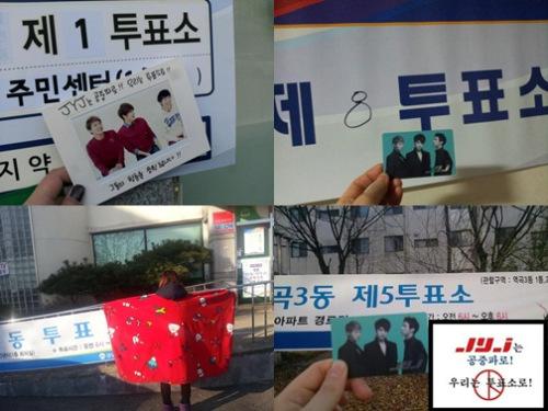 Fans JYJ Ajak Masyarakat Untuk Memilih