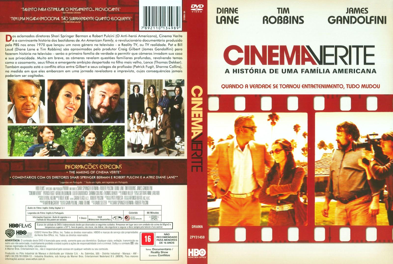 Cinema Verite A Saga de uma Família Americana BDRip XviD Dual Audio Cinema Verite