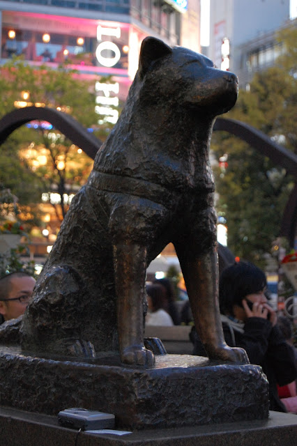 estatua de hachiko shibuya tokyo