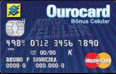 Ourocard Bônus Celular
