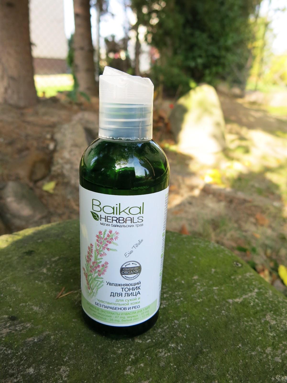 Baikal Herbals - tonik nawilżający do twarzy.
