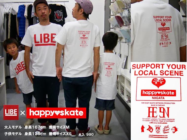 LIBE x happyskate