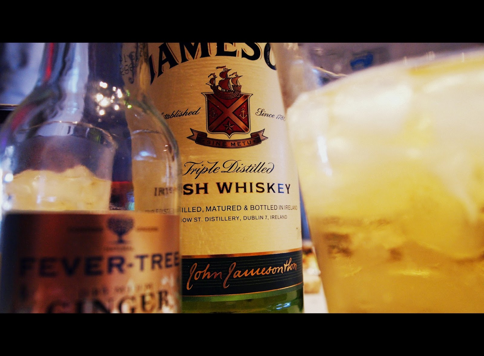 Jameson Ginger & lime - smagstest
