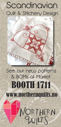 Visit us at Quilt Market!