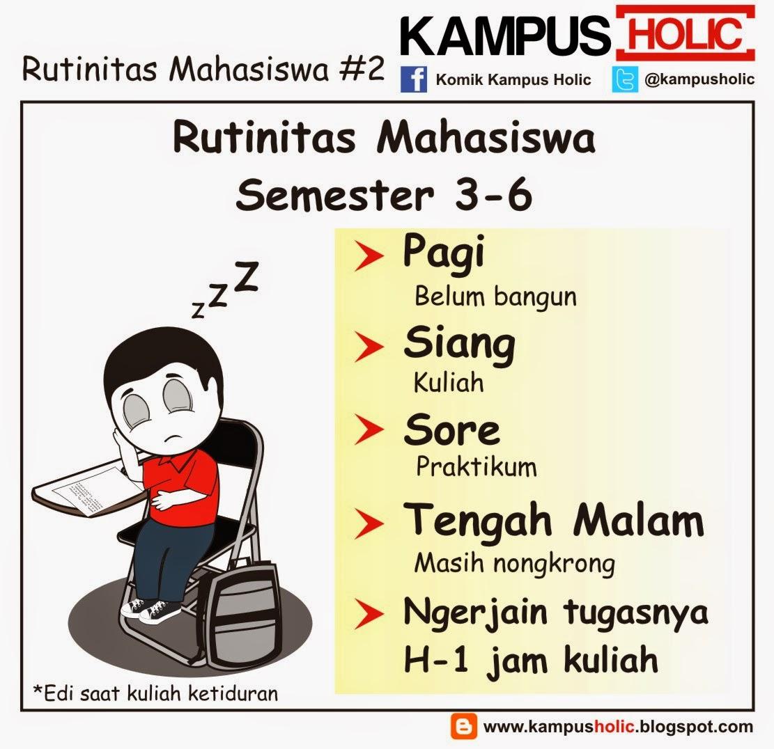 #849 Rutinitas Mahasiswa #2