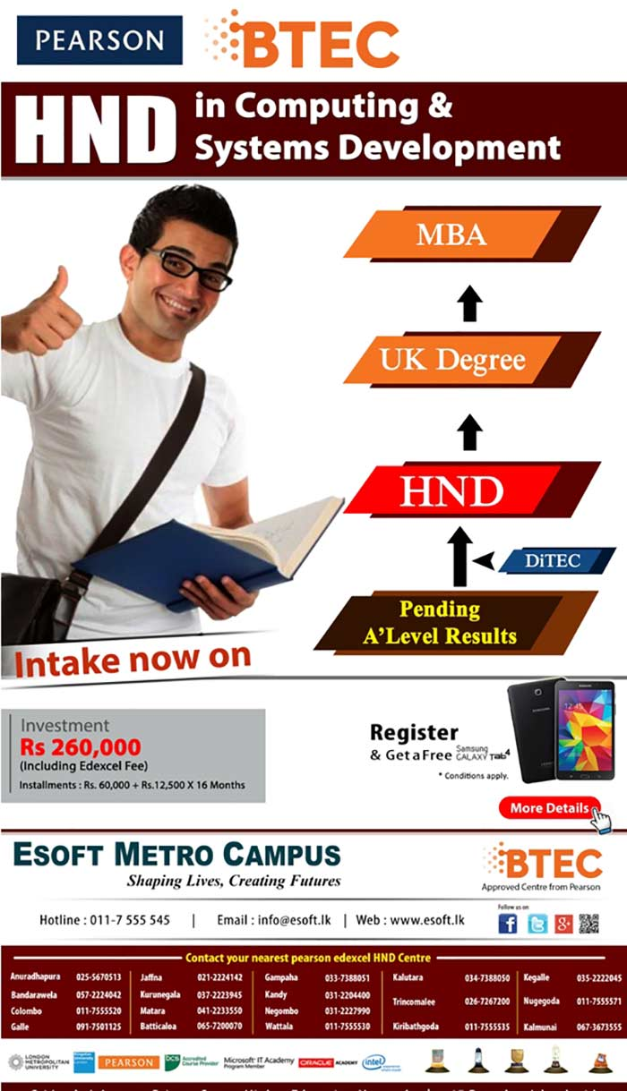 The Programme Consists of 16 Modules covered as 4 subjects per semester. 4th semester is decided based on student's preference from given option.The programme covers 240 Credits which can be transferee to the last year of any British undergraduate DEGREE (E.g. BUKS new University – UK) .