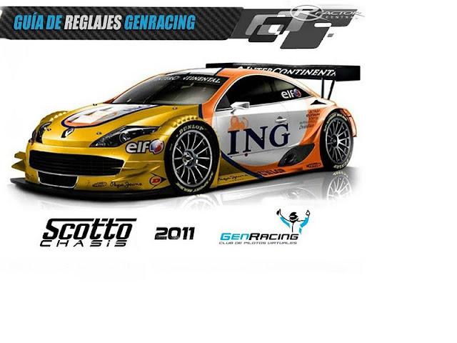 Gen Racing guía de Reglajes 2.0 rFactor