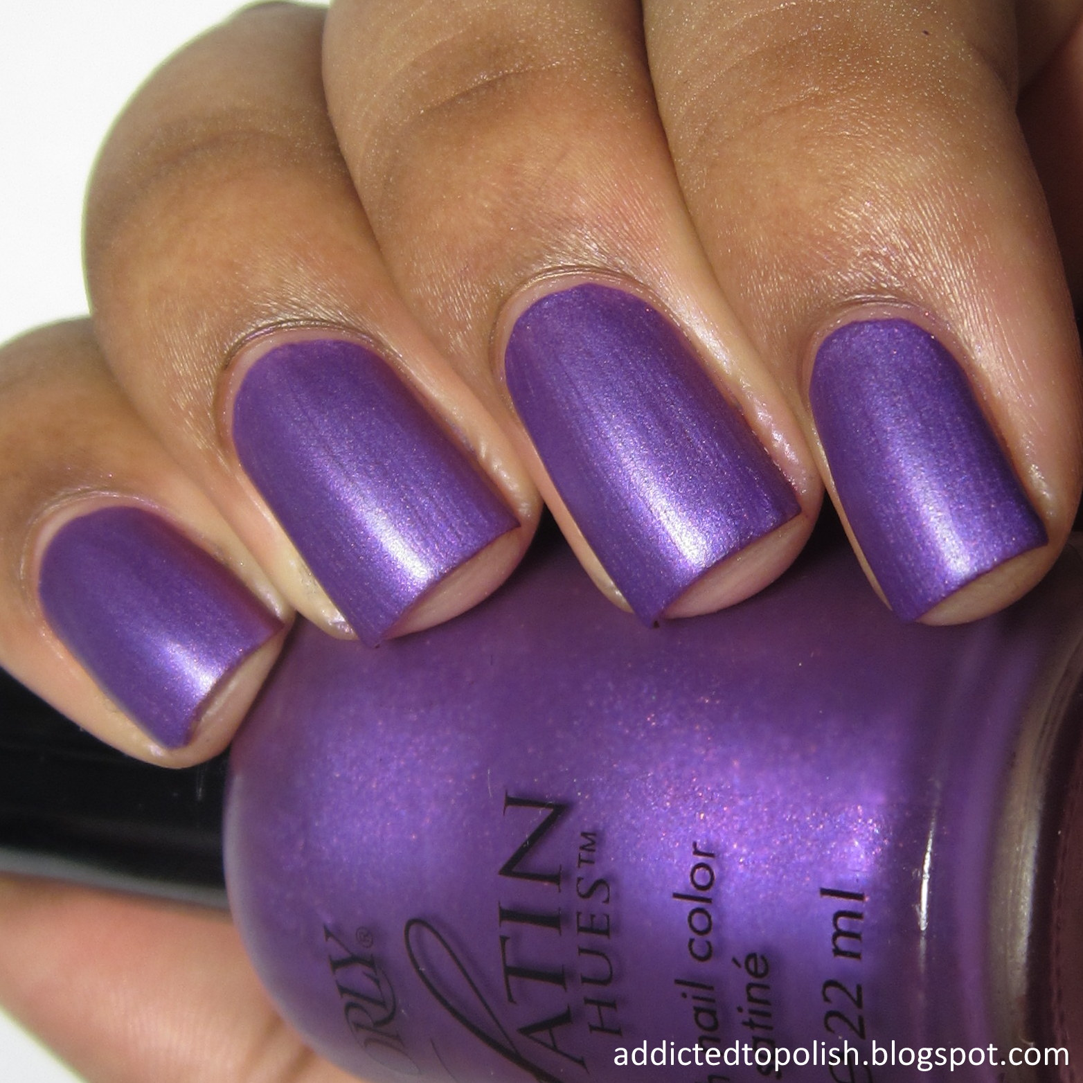 Orly Satin Royalty Satin Hues