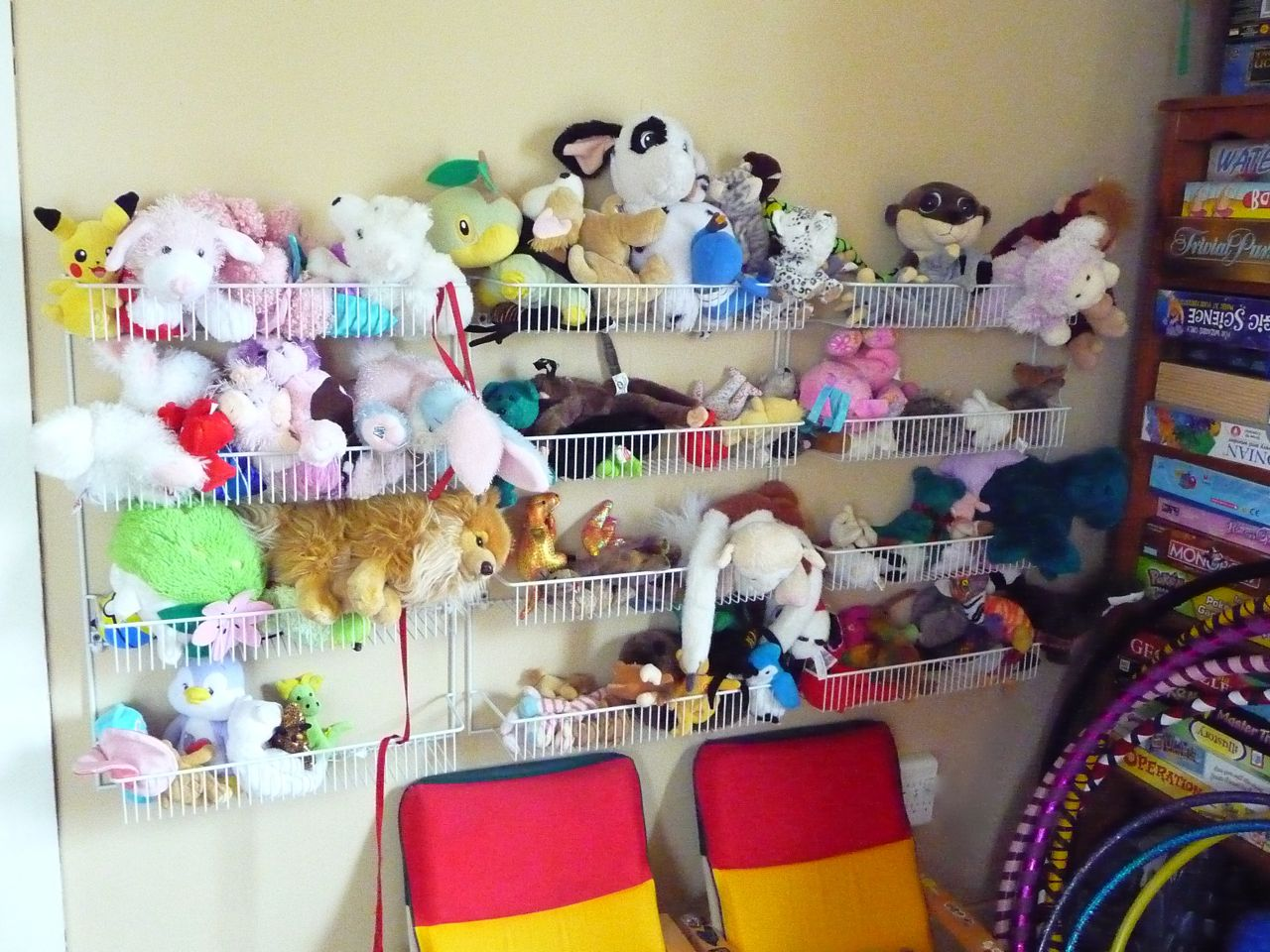 Here's quite a few ideas for storage for stuffed animals that have been shared by readers to give you inspiration. These ideas range from store bought items to do it yourself creations. The solution that will work for you and your kids will be the one that fits the size of the collection you have.