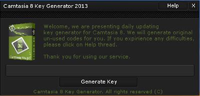 Camtasia Studio 8 Key