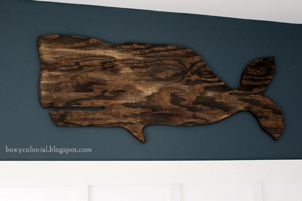 diy wooden whale