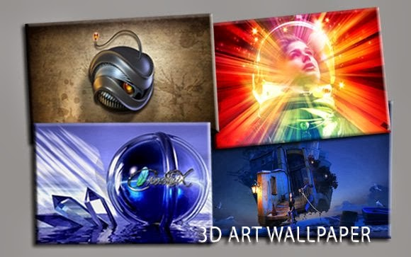 3D Art Wallpaper