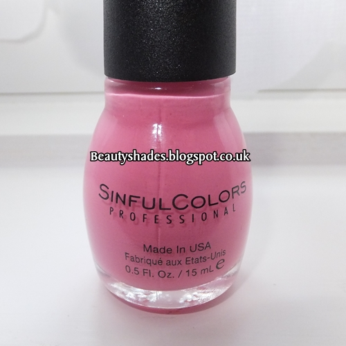 Sinful Cotton Candy Nail Polish: Sinful Colors Cotton Candy Swatch