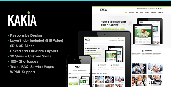 Kakia Multi-Purpose Business Corporate Theme Version 1.4.1 free