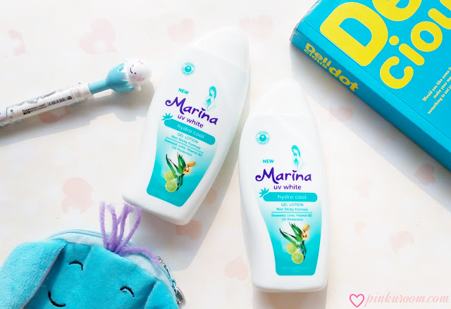 Marina Hydro Cool Gel Lotion Review Pinkuroom