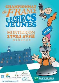 Echecs à Monluçon : Championnat de France jeunes