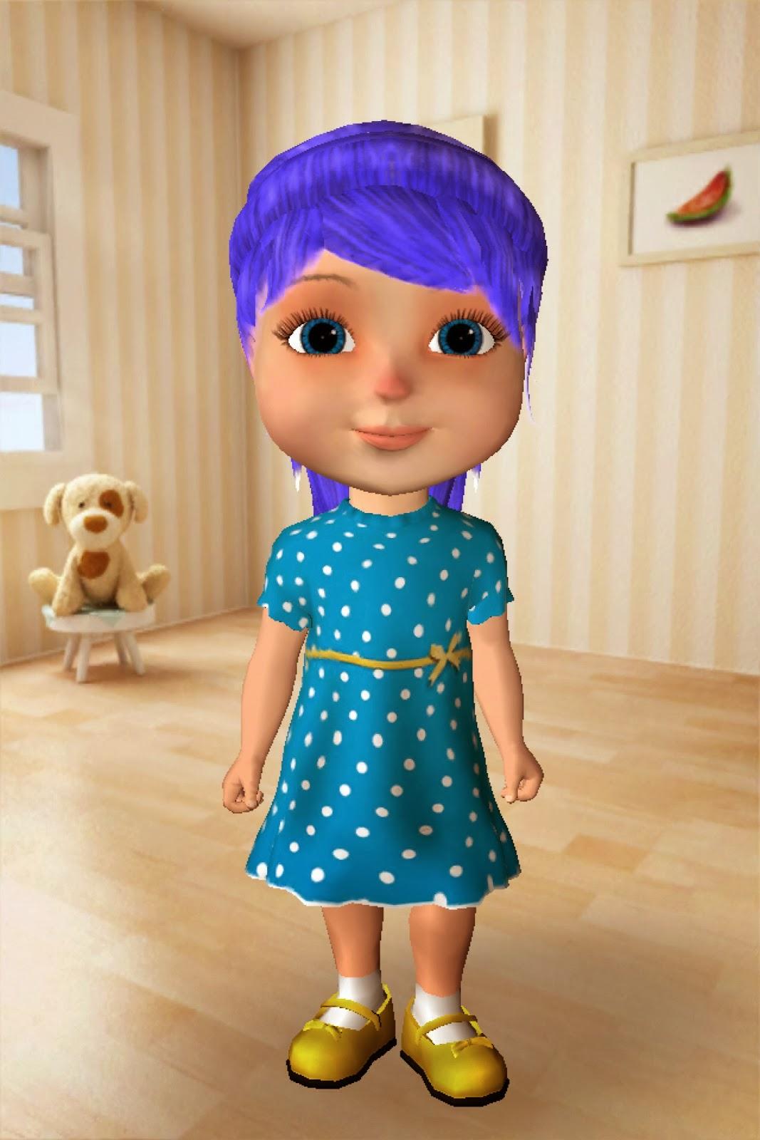 Talking Anya Dress-up & Pet Puppies App Review