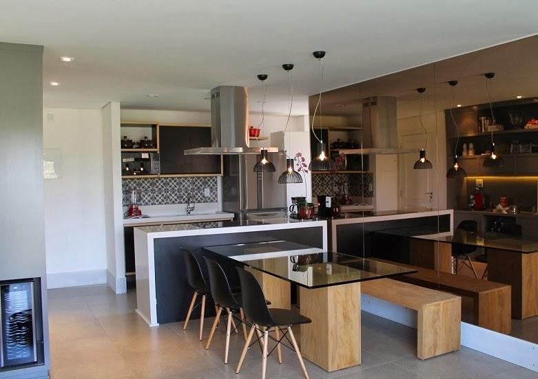 decoracao cozinha e copa : decoracao cozinha e copa:Amando, Casando e Decorando: {Decorando} Mesa de jantar integrada ao