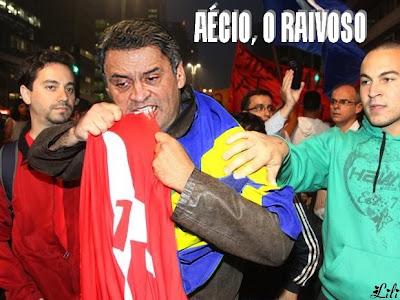 Aécio Neves,o raivoso:  PT não gosta da Clase média, só de pobres #VemPraRuaAécio #VemPraRuaFHC