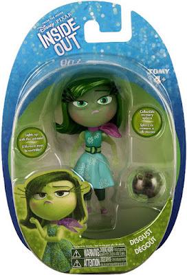 JUGUETES - DISNEY Inside Out | Del reves  Asco | Figura Muñeco + Esfera de Memoria | Disgust Producto Oficial Película Pixar 2015 | Bizak - Tomy | A partir de 4 años Comprar en Amazon
