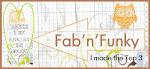Fab 'n' Funky Challenge #155 Top 3