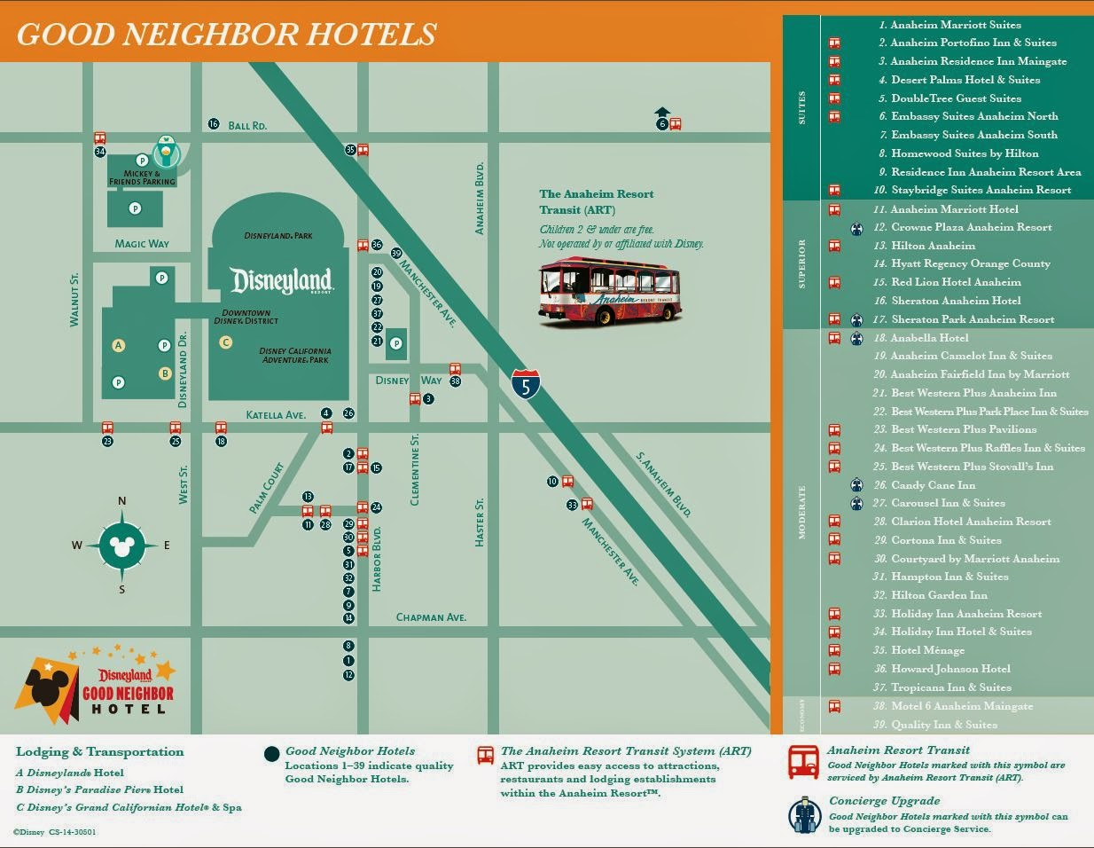 are you visiting dl for any of the race weekends if so where are youstaying. fairytales and fitness disneyland good neighbor hotel map