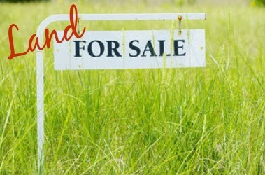 field green grass for sale sign
