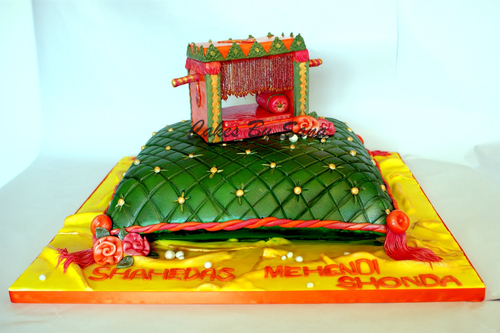 Mehndi Cake Birmingham : Cakesbysana shaheda s mehndi cake