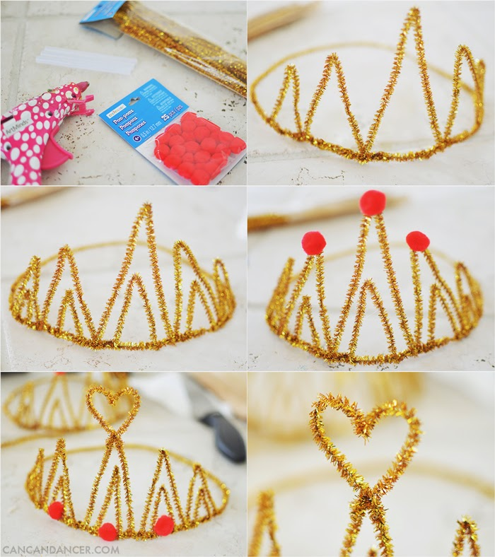 Can Can Dancer: DIY Birthday Crown