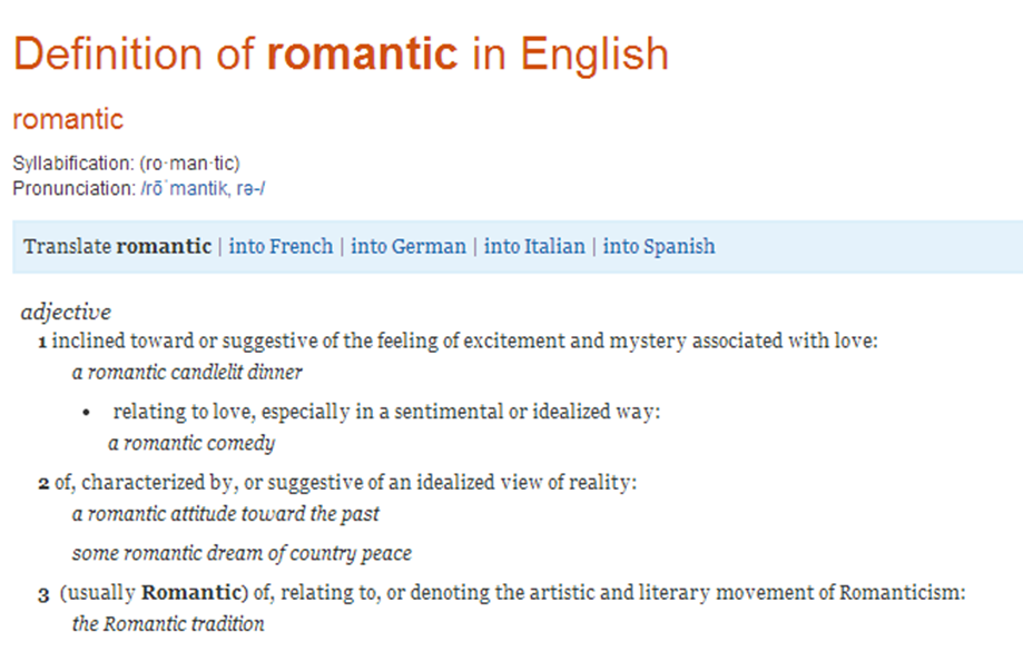 Indirect dating definition