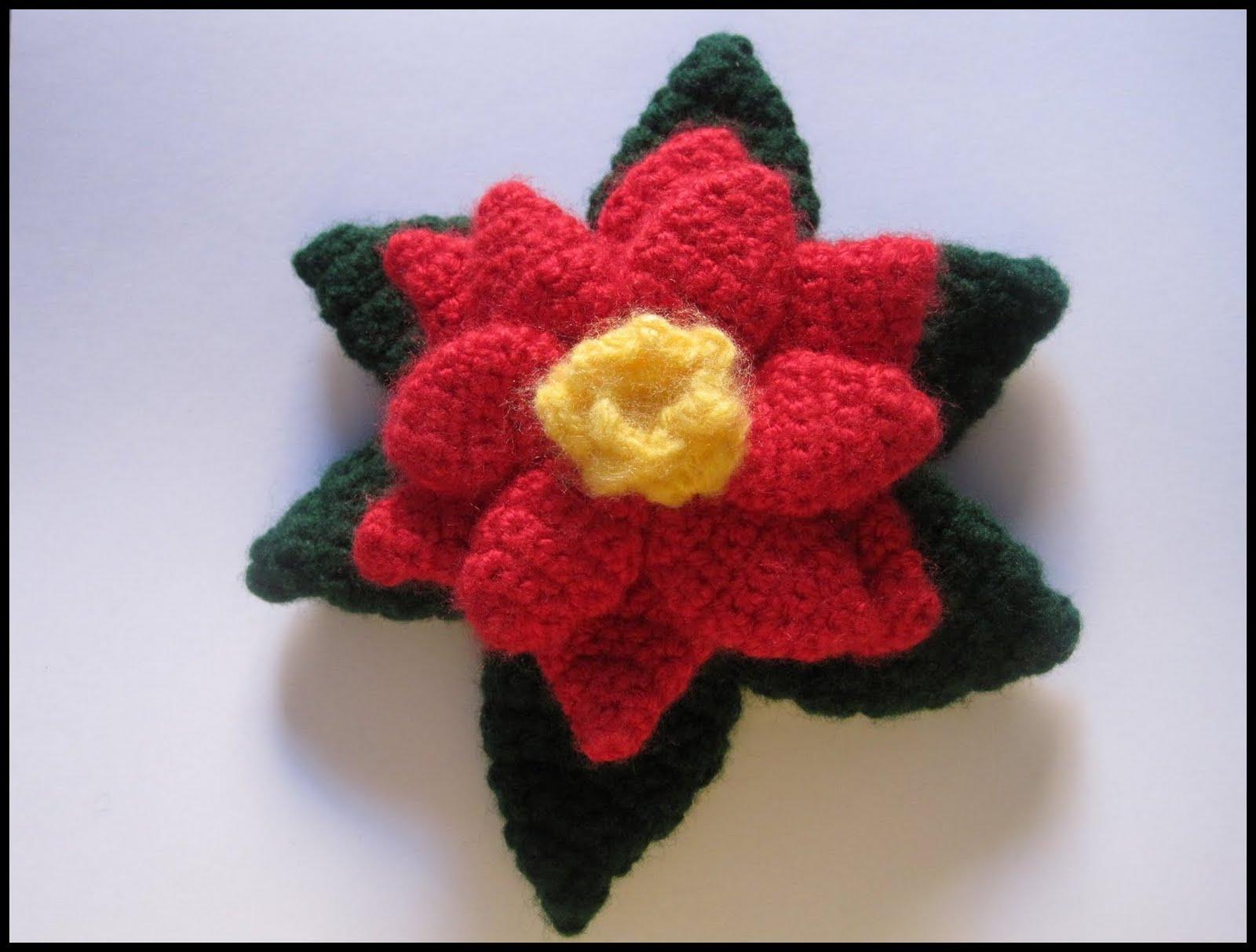 Ajantha Cakes/ Crochet/Poinsettia Flower