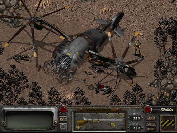 fallout screenshot pc game review gameplay 3 Fallout GOG Classic ISO RAiN