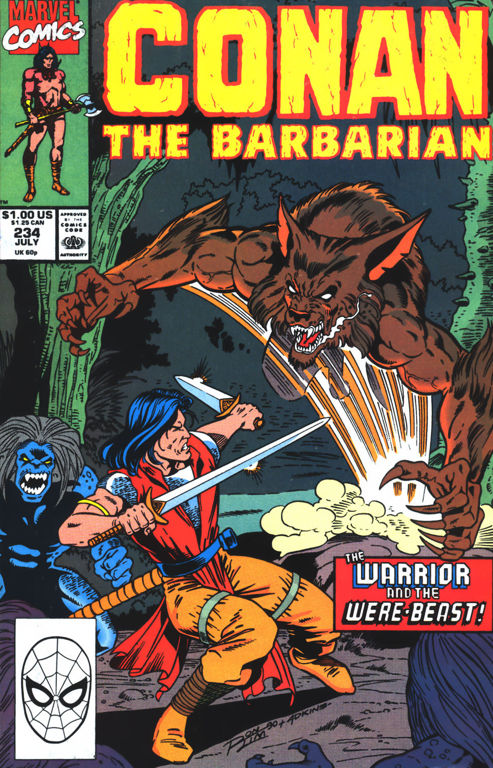 Conan the Barbarian (1970) Issue #234 #246 - English 1