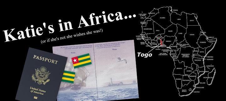 Katie's in Africa!