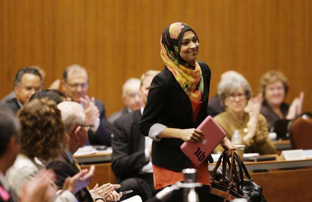 First Muslim student regent at University of California