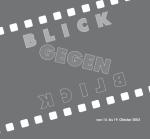 Blick / Gegenblick. Sowjetische und deutsche Dokumentarfilme